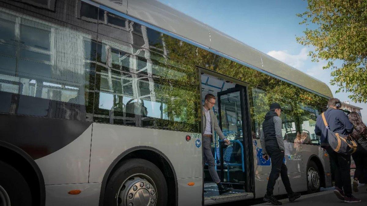 Bus à hydrogène Île-de-France