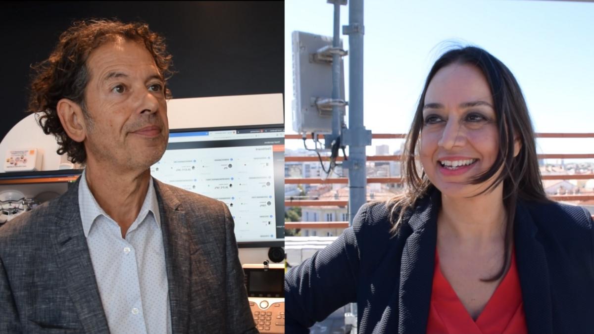 Valérie Thérond et Fabien Finucci