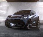 Salon de Francfort : Cupra Tavascan, un concept-car électrique très agressif