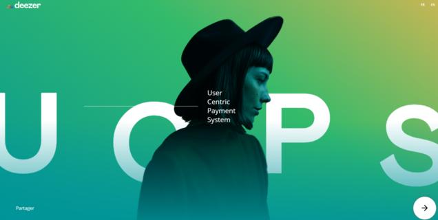 Deezer crée un mini site pour proposer une nouvelle répartition de la rémunération des artistes