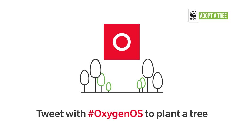 OnePlus OxygenOS arbre