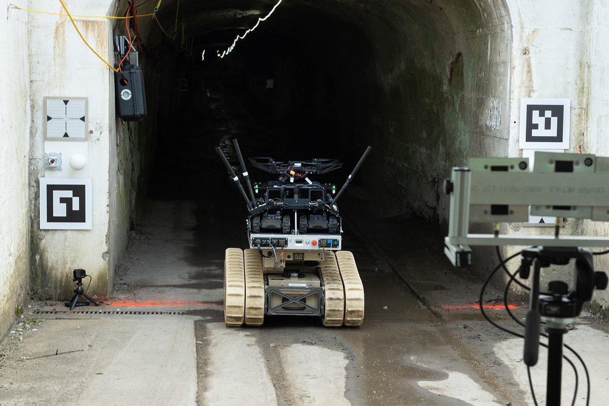 Robot DARPA Mine