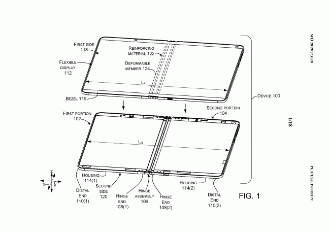 Microsoft Surface Dual brevet