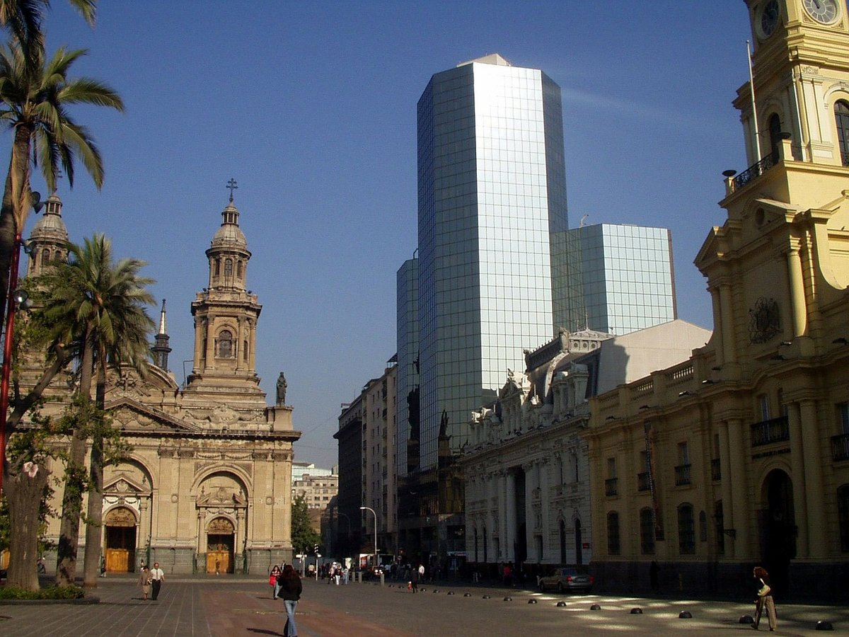 Santiago Chili buildings