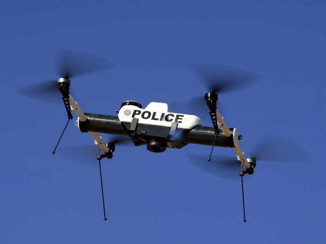 La police de Los Angeles compte maintenant des drones parmi ses membres permanents