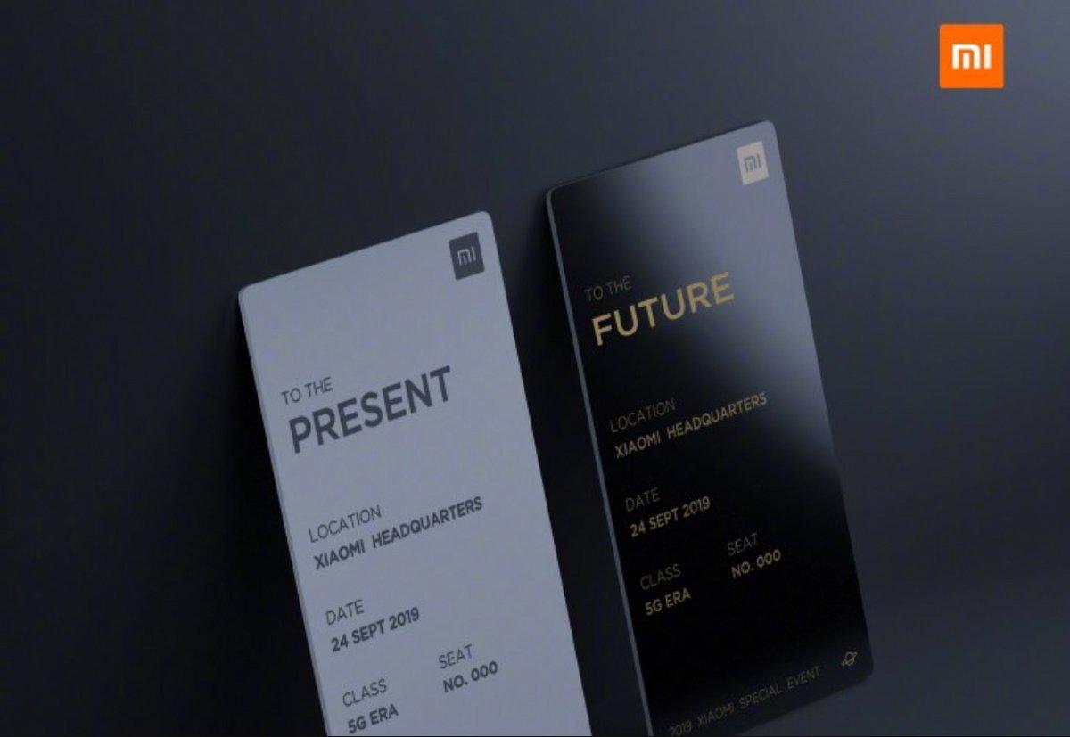 Xiaomi 24 septembre