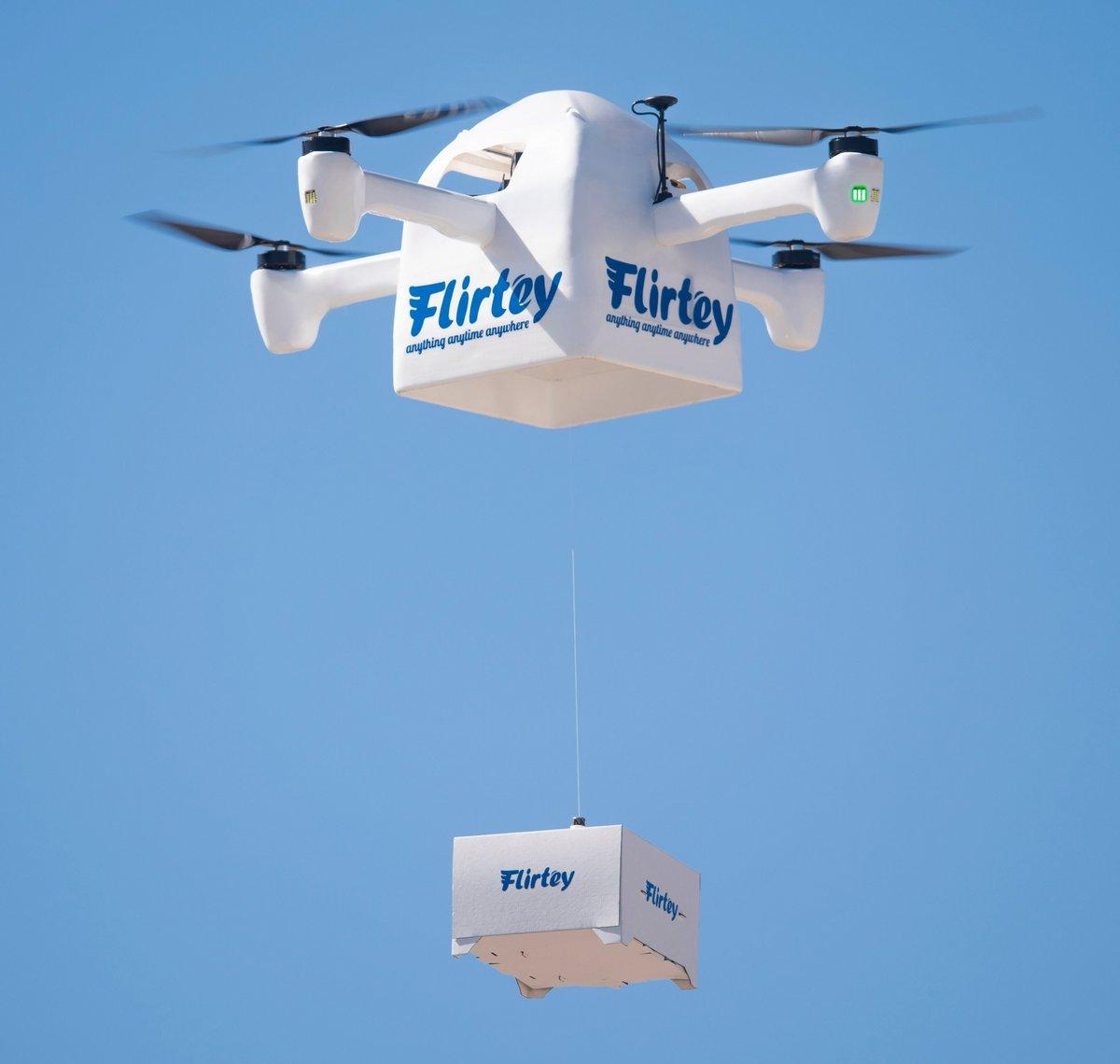 Flirtey Eagle drone livraison
