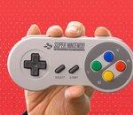 Les manettes de Super Nintendo pour Switch sont enfin en vente