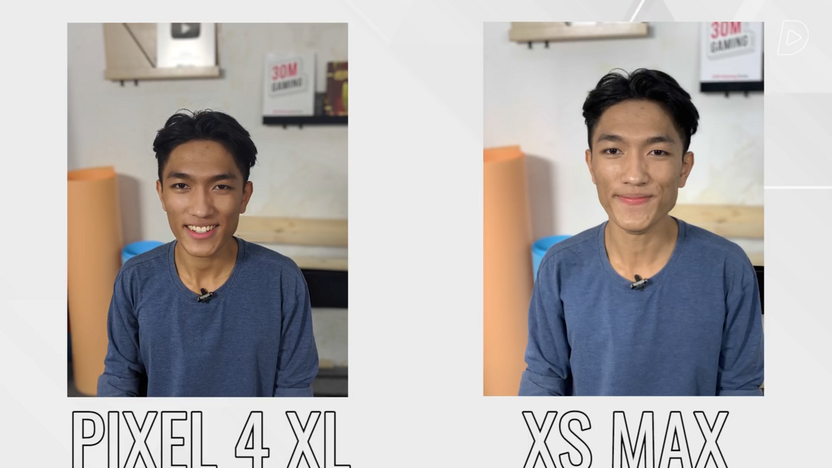 Comparatif Pixel 4 XL/iPhone XS Max