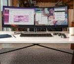 HP dévoile S430C, un gigantesque moniteur incurvé capable d'afficher deux écrans