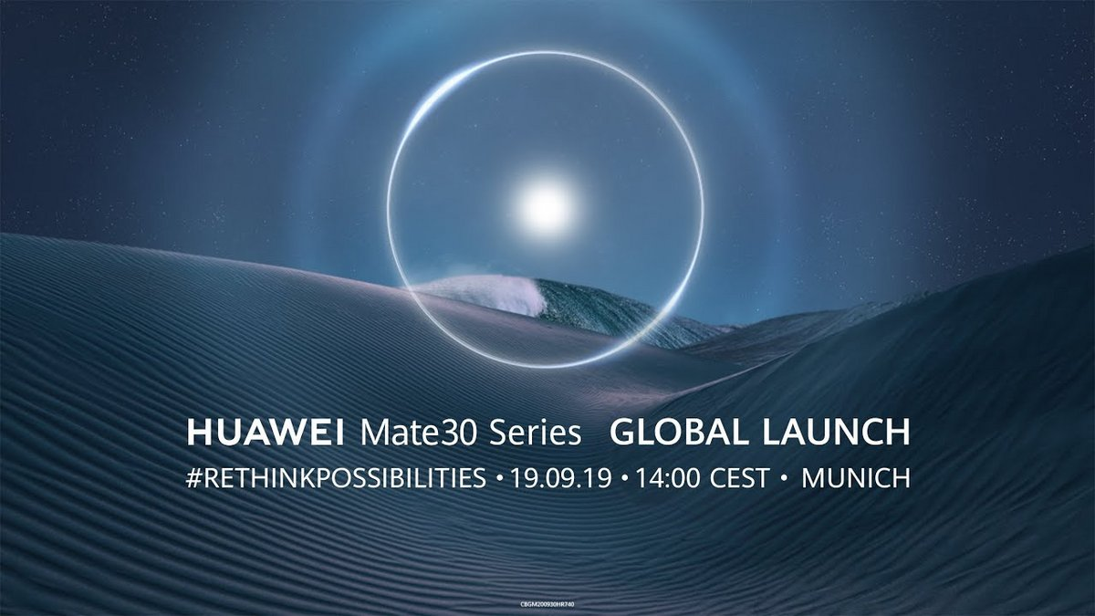 Huawei Mate 30 evenement