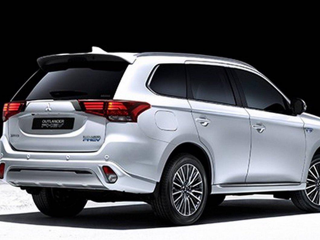 Mitsubishi tease un SUV hybride rechargeable, qu'il présentera au Tokyo Motor Show