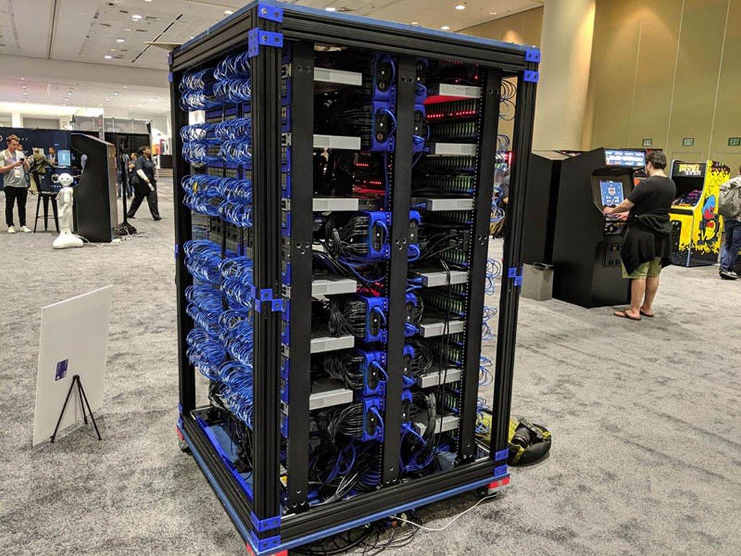 Oracle fait sensation avec son super ordinateur composé de 1060 Raspberry Pi