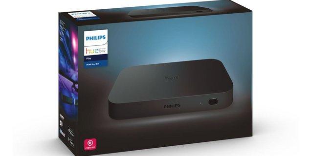 Le boitier Philips Hue supporte désormais les commandes vocales, le HDR10+ et Dolby Vision