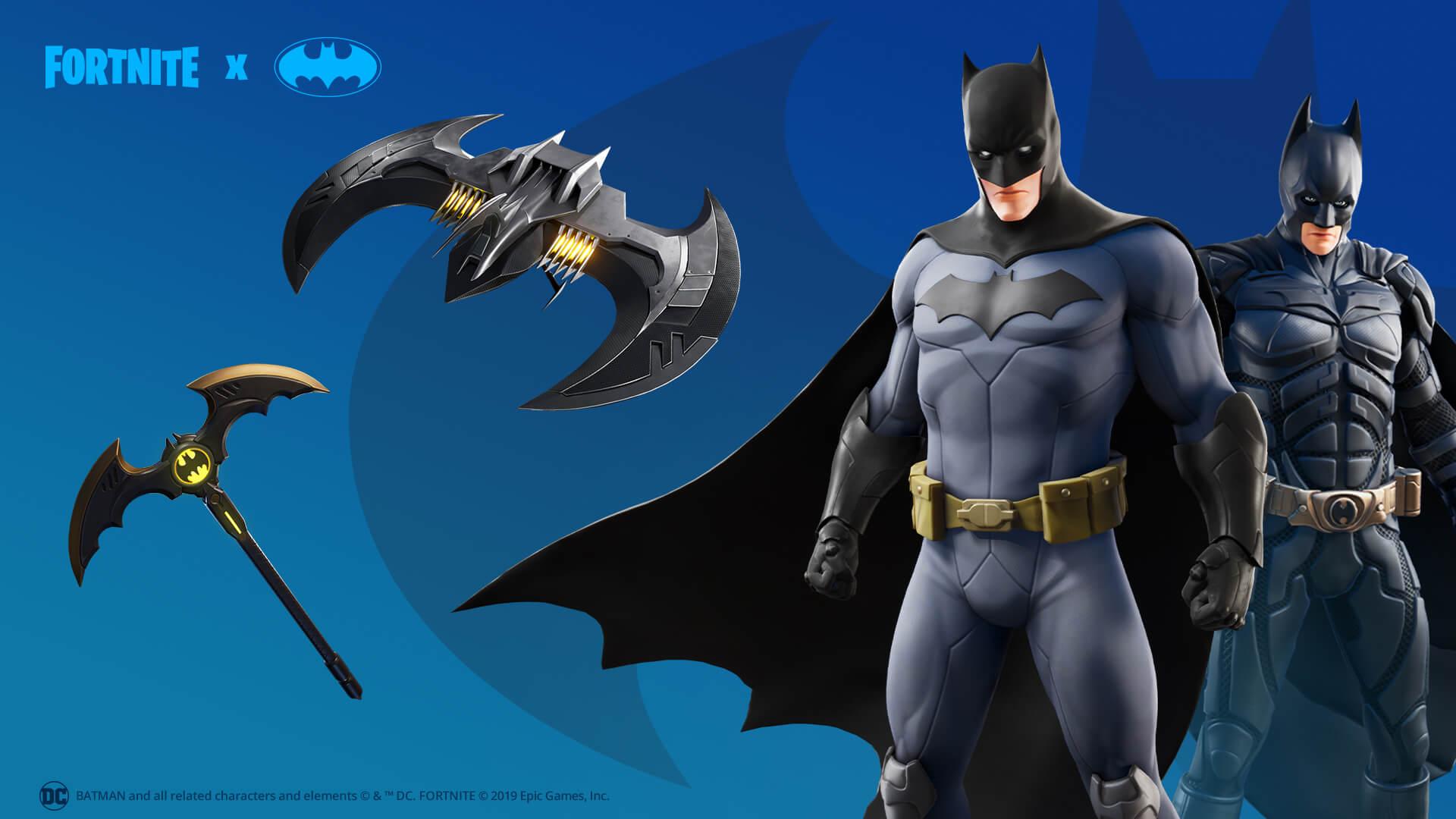 Fortnite accueille un événement Batman