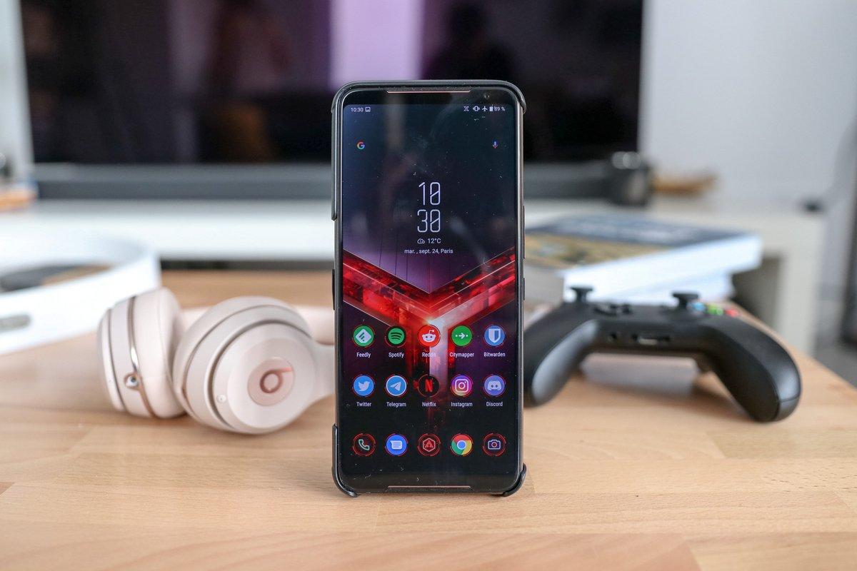 Asus ROG Phone II test