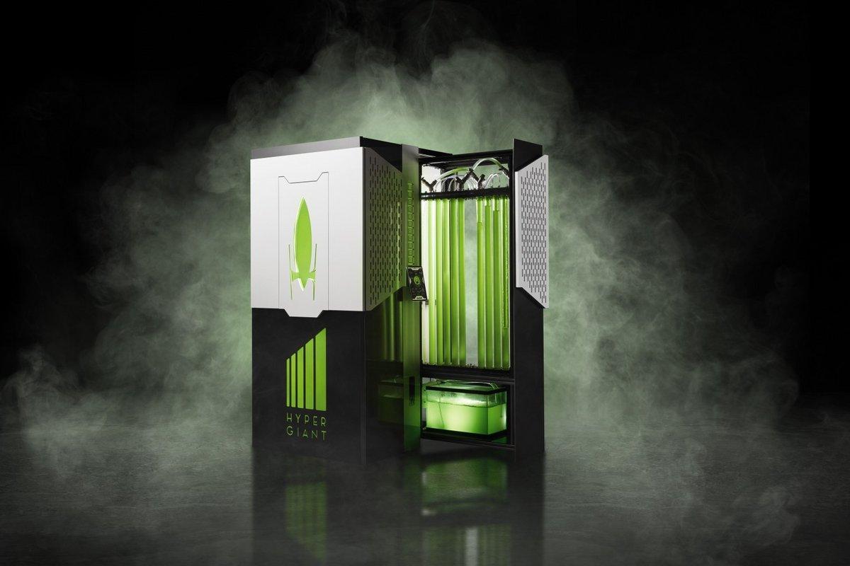 Hypergiant bioréacteur algues