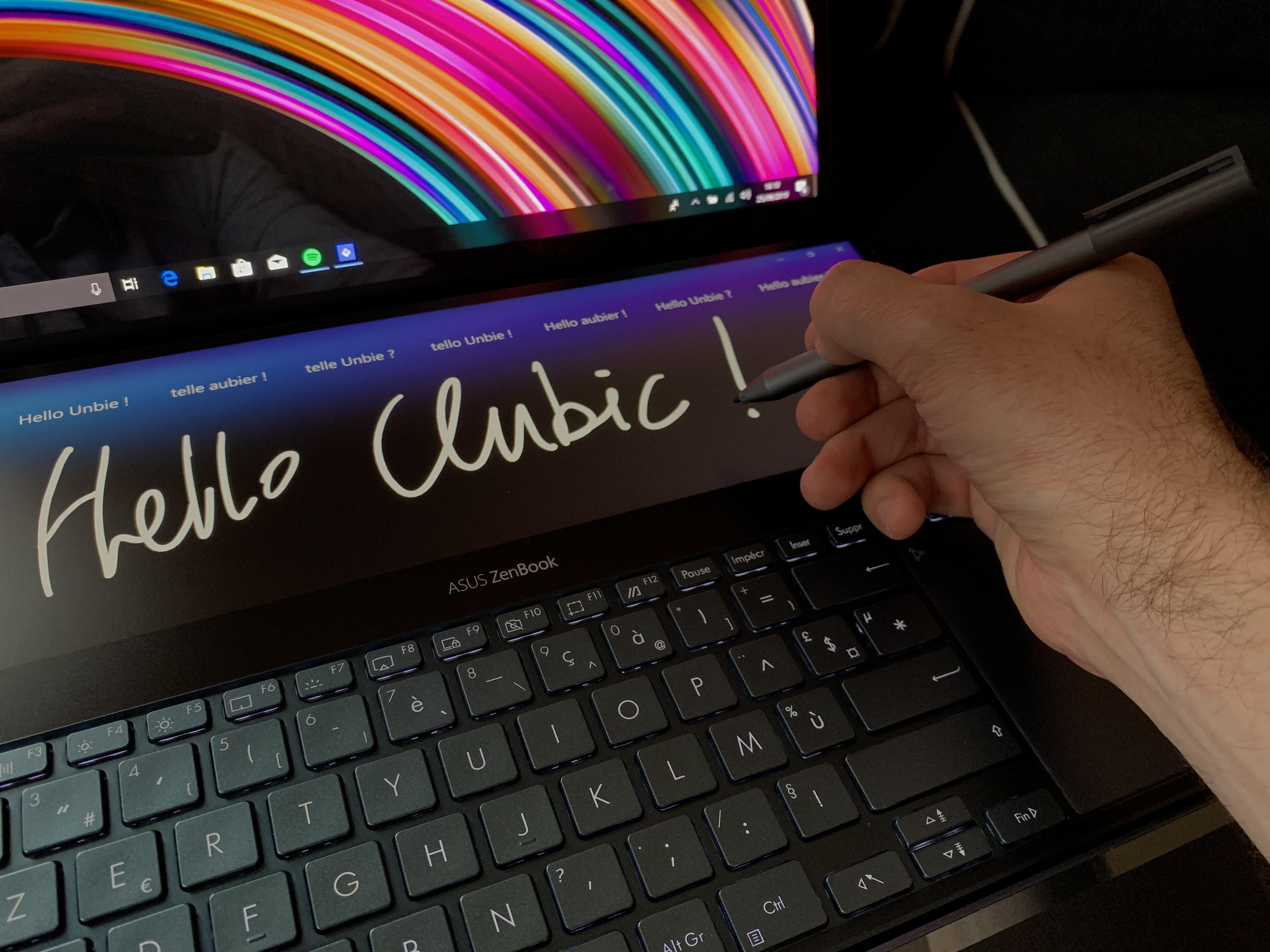 Test Asus Zenbook Pro Duo Ux581v Un Monstre Docile Taille Pour La Productivite Et La Creation