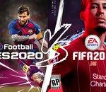 FIFA 20 VS eFootball PES 2020 : quand EA met Konami au défi