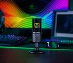 Razer lance un micro pour streamers doté d'un écran émoticône