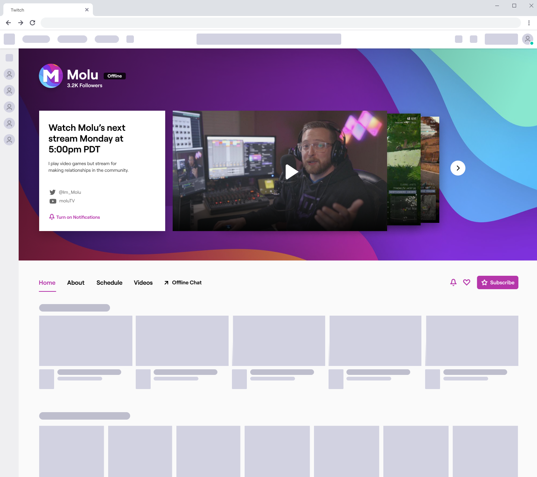 Twitch repense son interface et s'offre un nouveau logo
