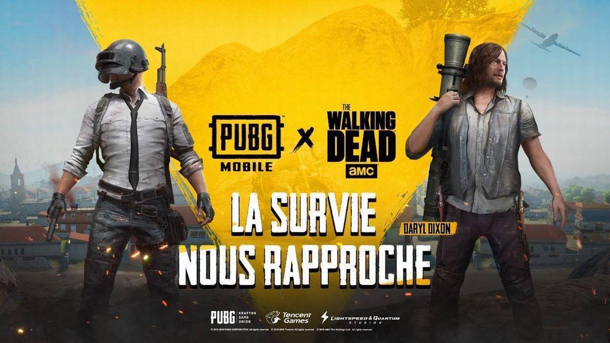 PUBG Walking Dead