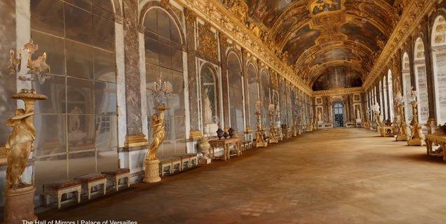 Google porte le Château de Versailles en VR, sans la foule, en compilant quelque 4 To de données