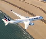Airbus A350 : le premier modèle du dernier avion d'Air France a fait son apparition à Paris
