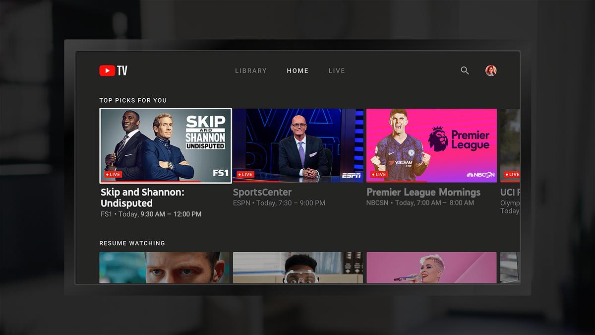 YouTube TV Fire TV