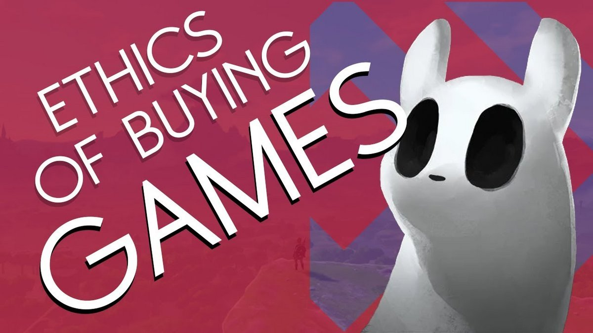 Ethics of Buying Games