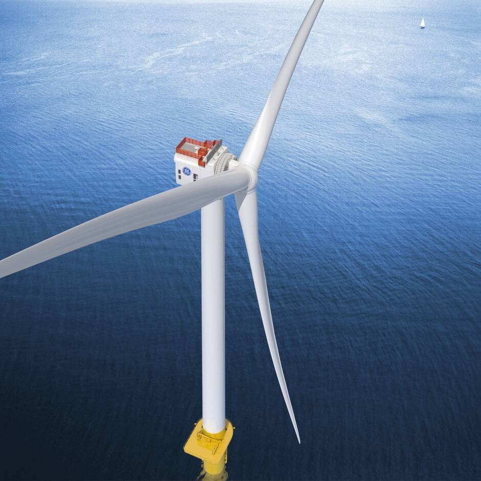 Éolienne Haliade X General Electric