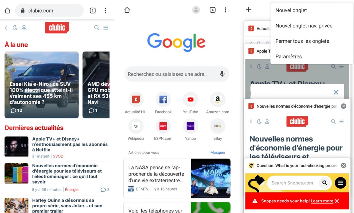 Google Chrome © clubic.com