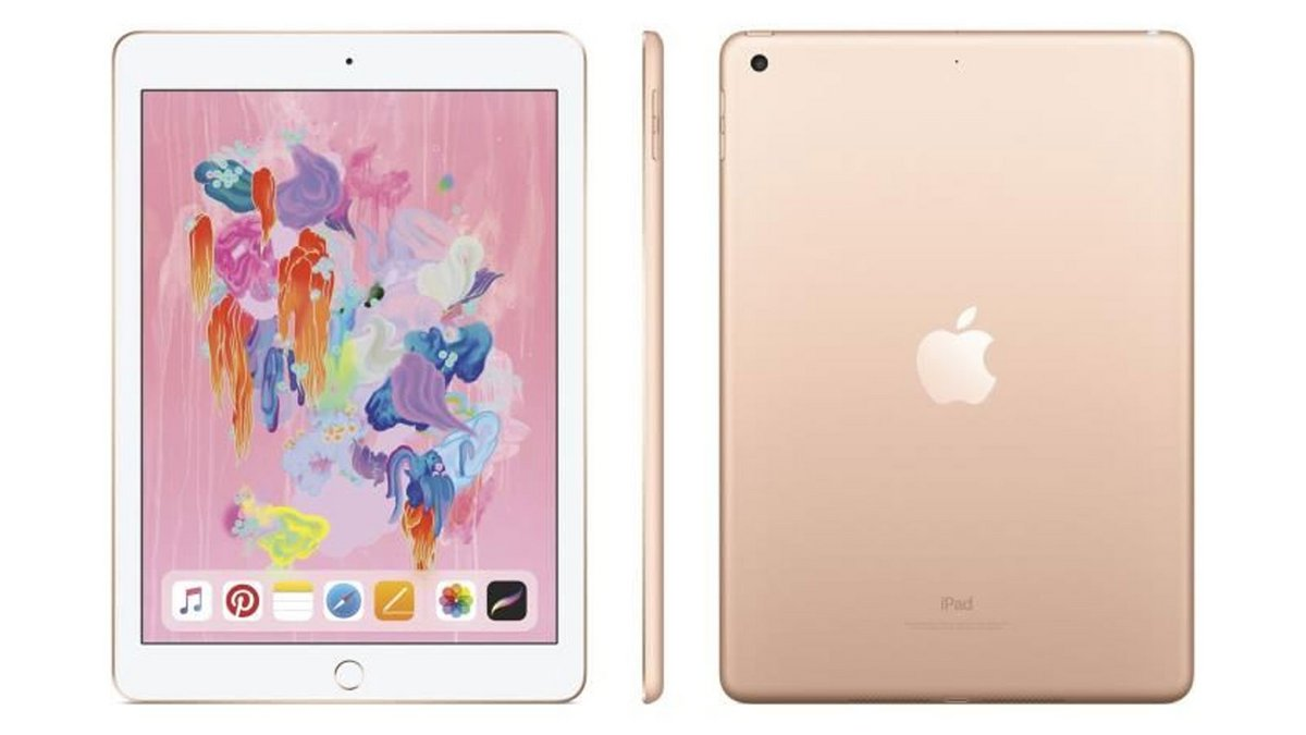 iPad 9,7 Retina 32Go - WiFi - Or - 6ème Génération