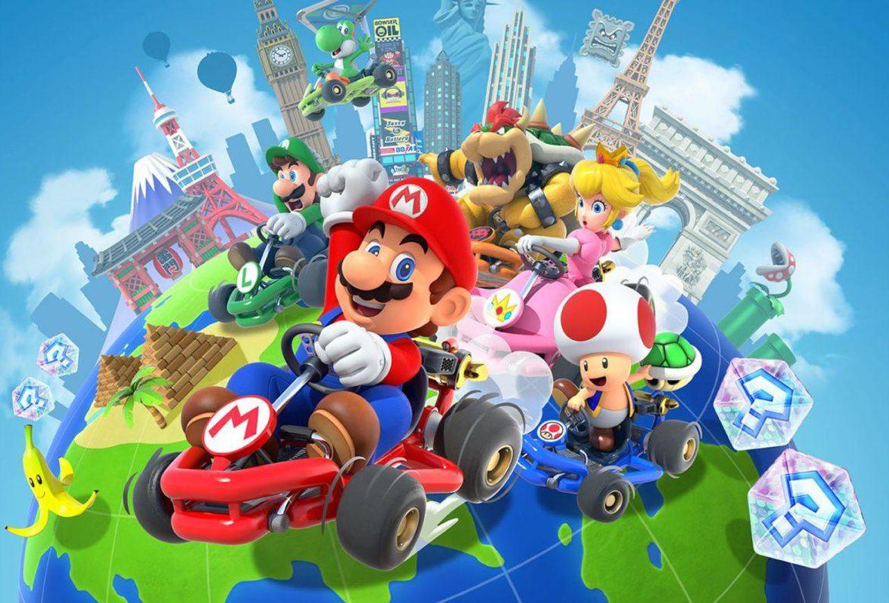 Mario Kart Tour : près de 124 millions de téléchargements !
