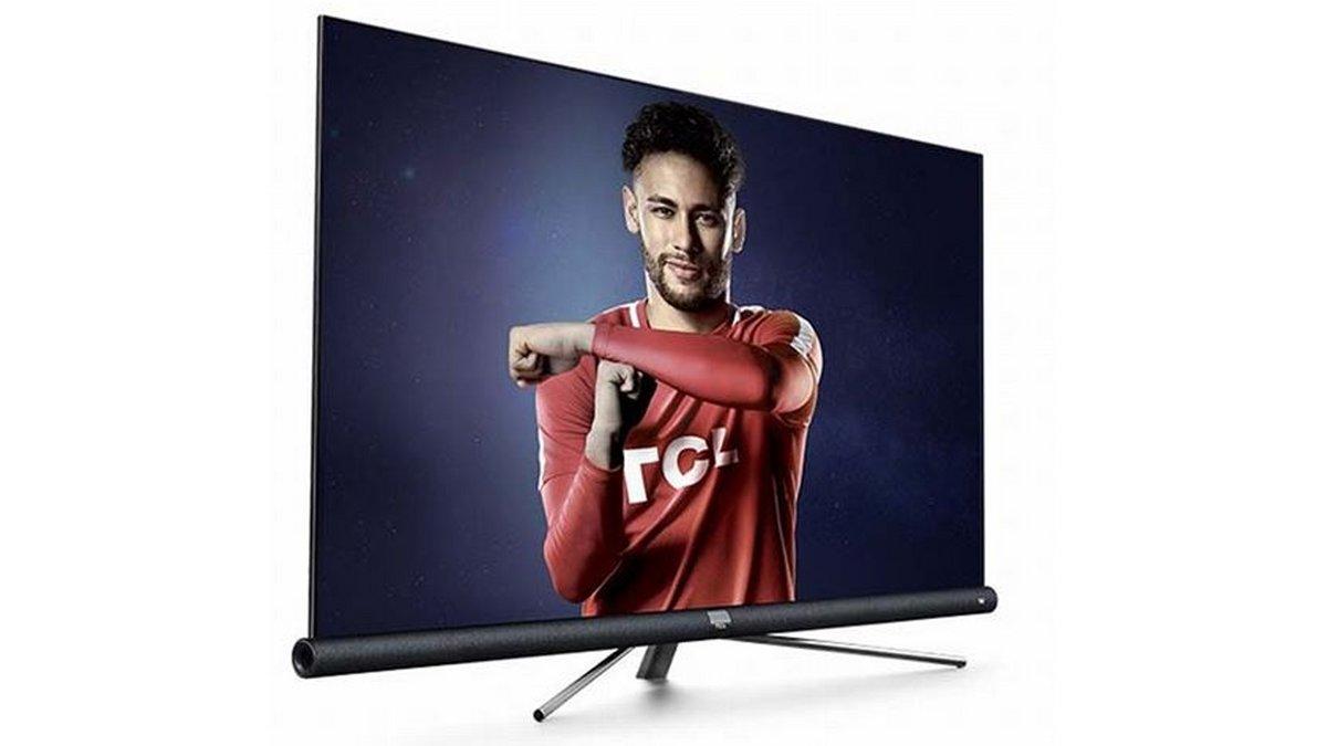 TV TCL 55DC760 UHD 4K Smart Android TV 55 pouces avec Barre de son JBL intégrée