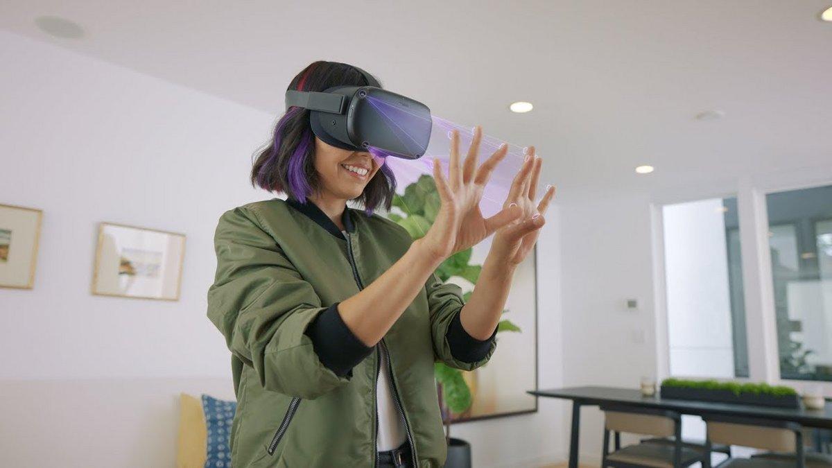 Oculus Quest hand tracking ©Oculus