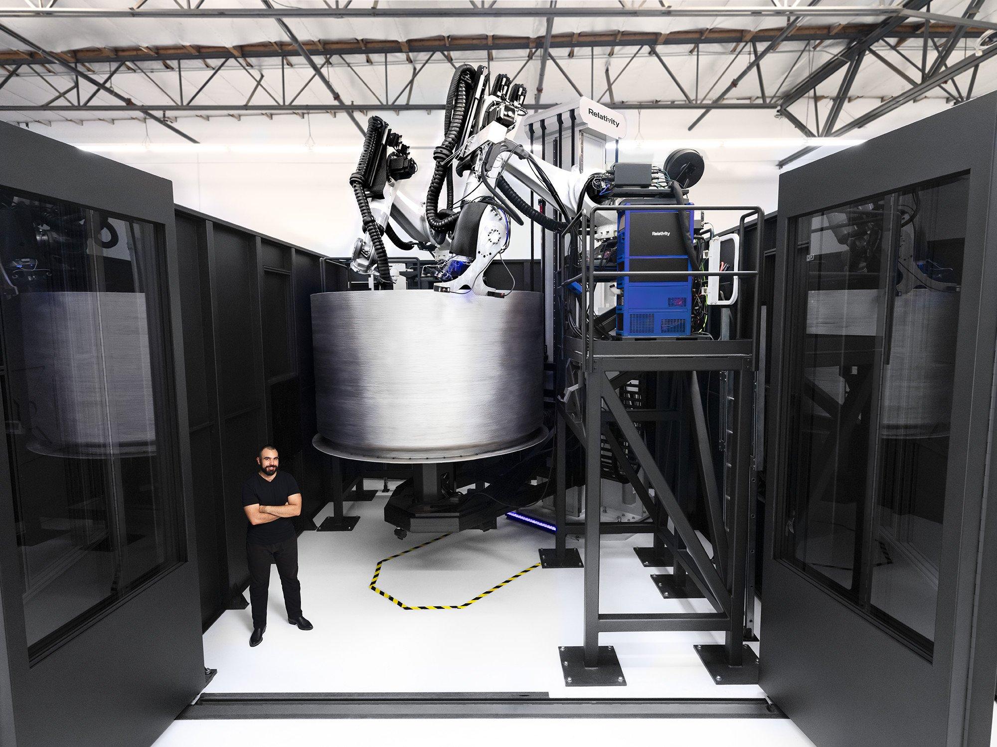 Relativity Space prépare son lanceur imprimé en 3D