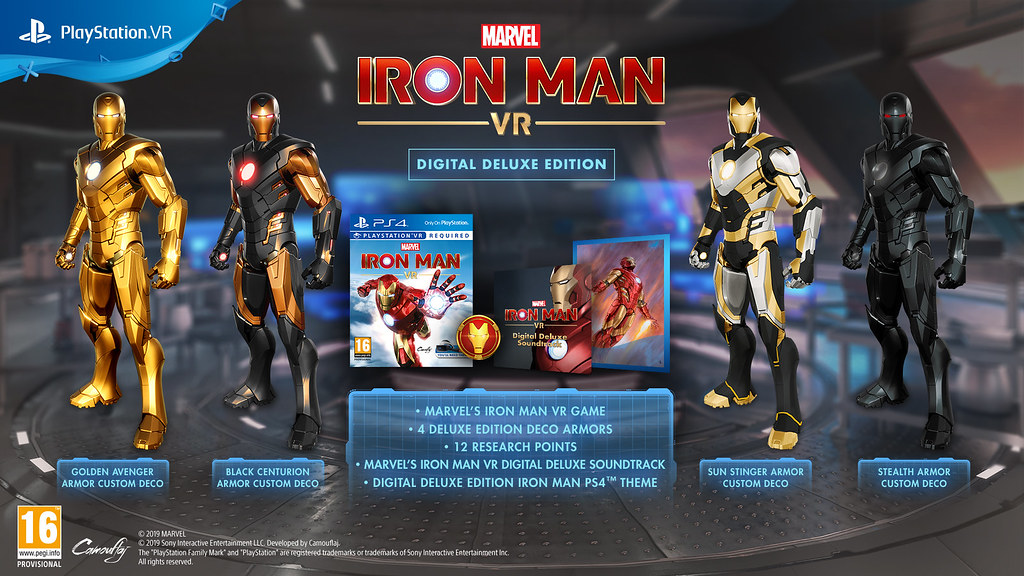 Marvel's Iron Man-VR éditions