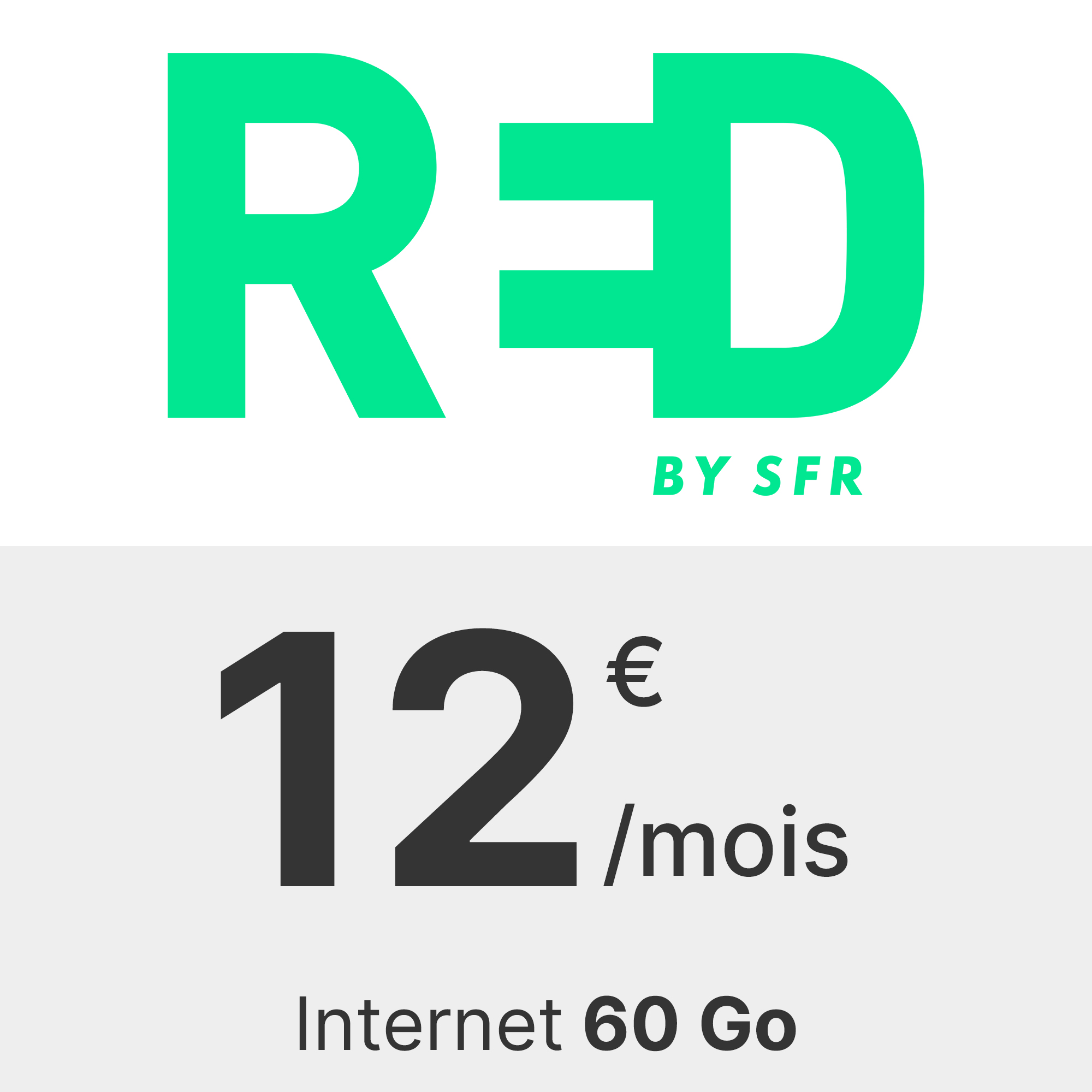 Forfait RED 60 Go