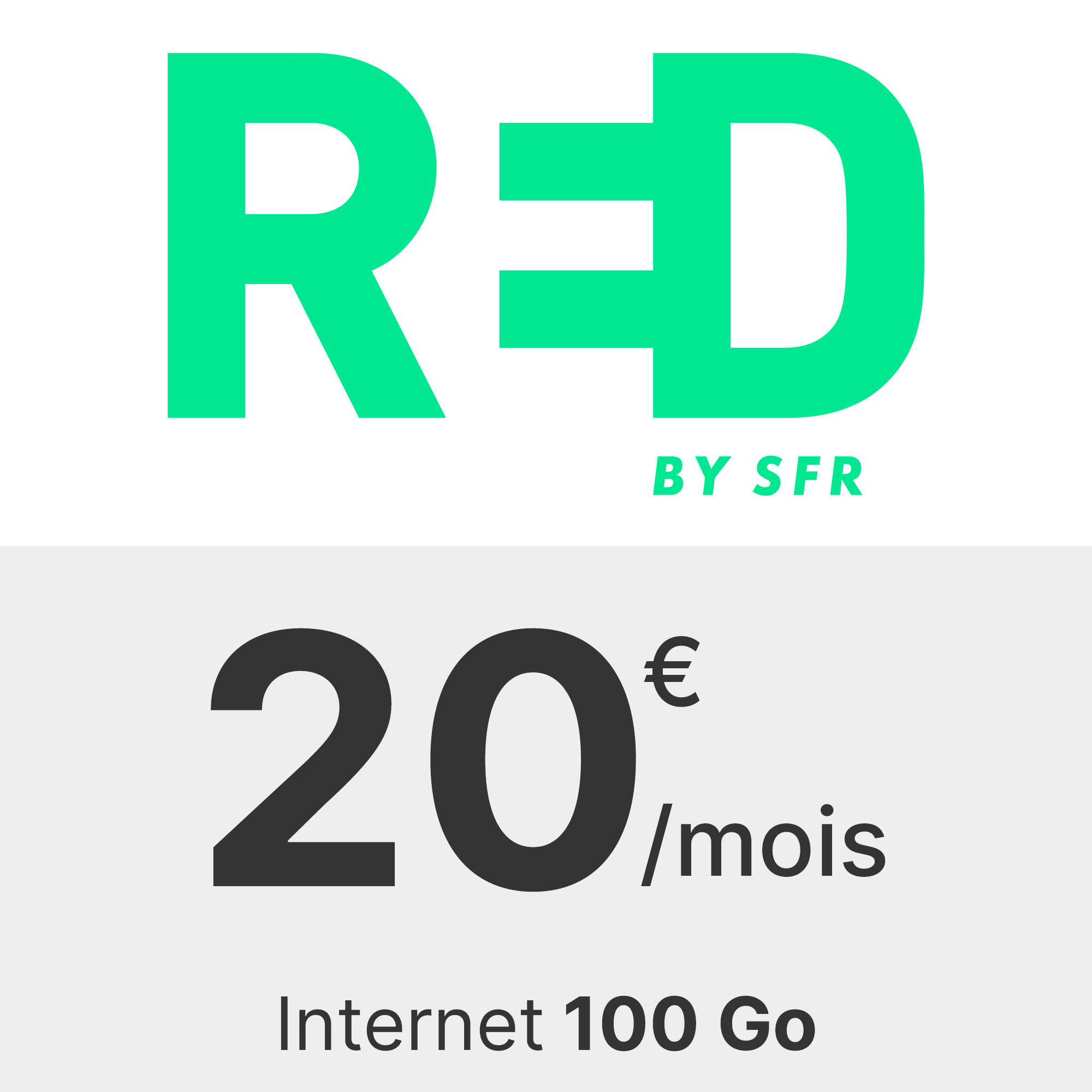 Forfait RED 100 Go