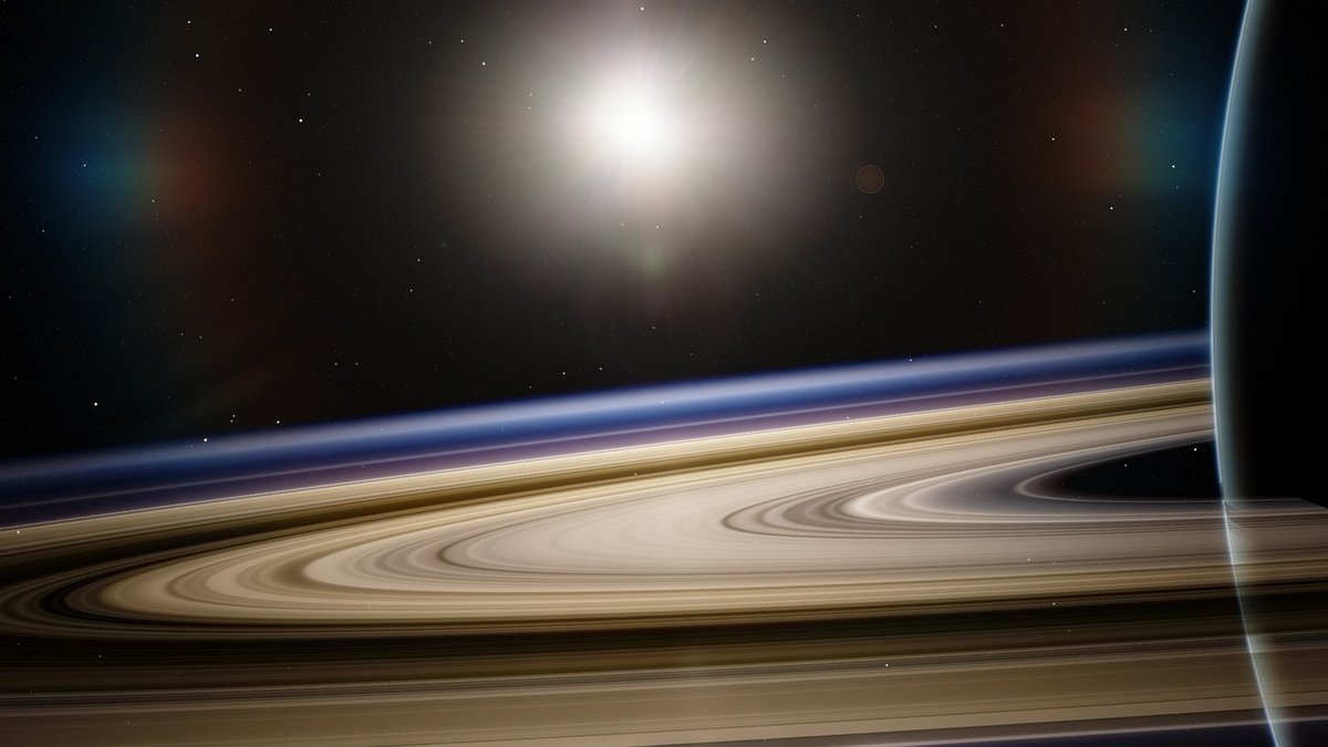 Saturne anneaux