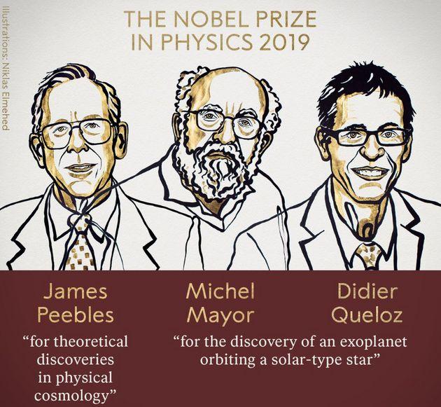 Prix Nobel de physique 2019