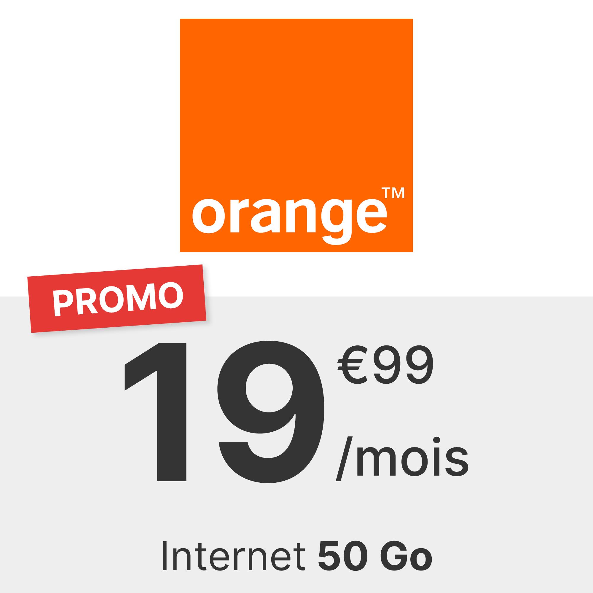 Forfait Orange 50 Go