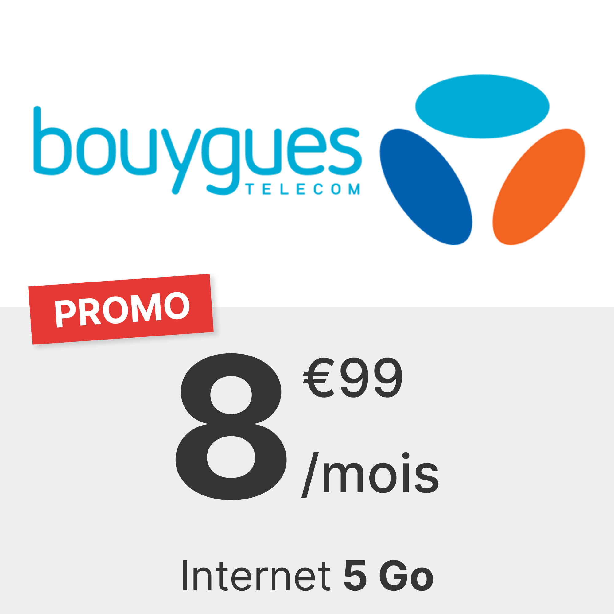 Forfait Bouygues 5 Go