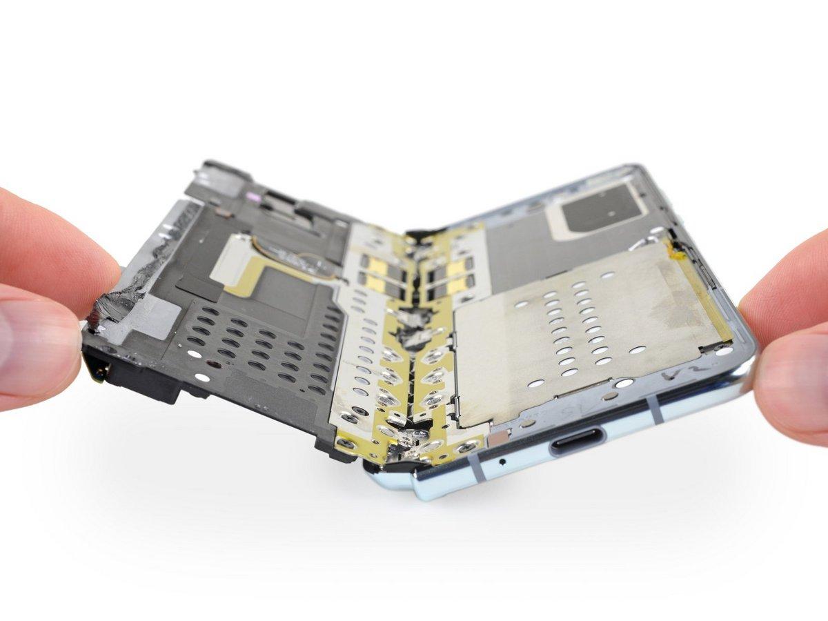 Galaxy Fold iFixit