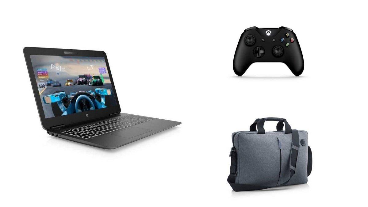 PC portable Gamer HP Pavilion manette Xbox sacoche.jpg
