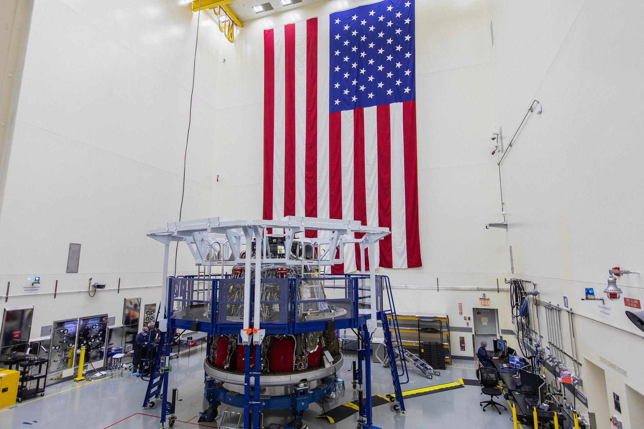 SpaceX tente d'accélérer son programme Crew Dragon