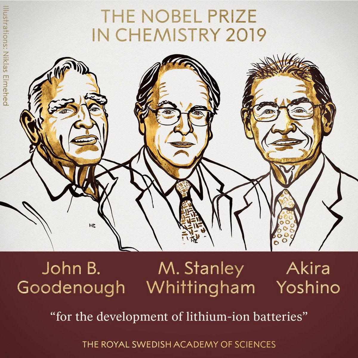 Prix Nobel de chimie 2019