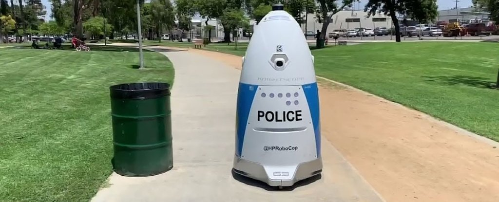 Knightscope robot policier