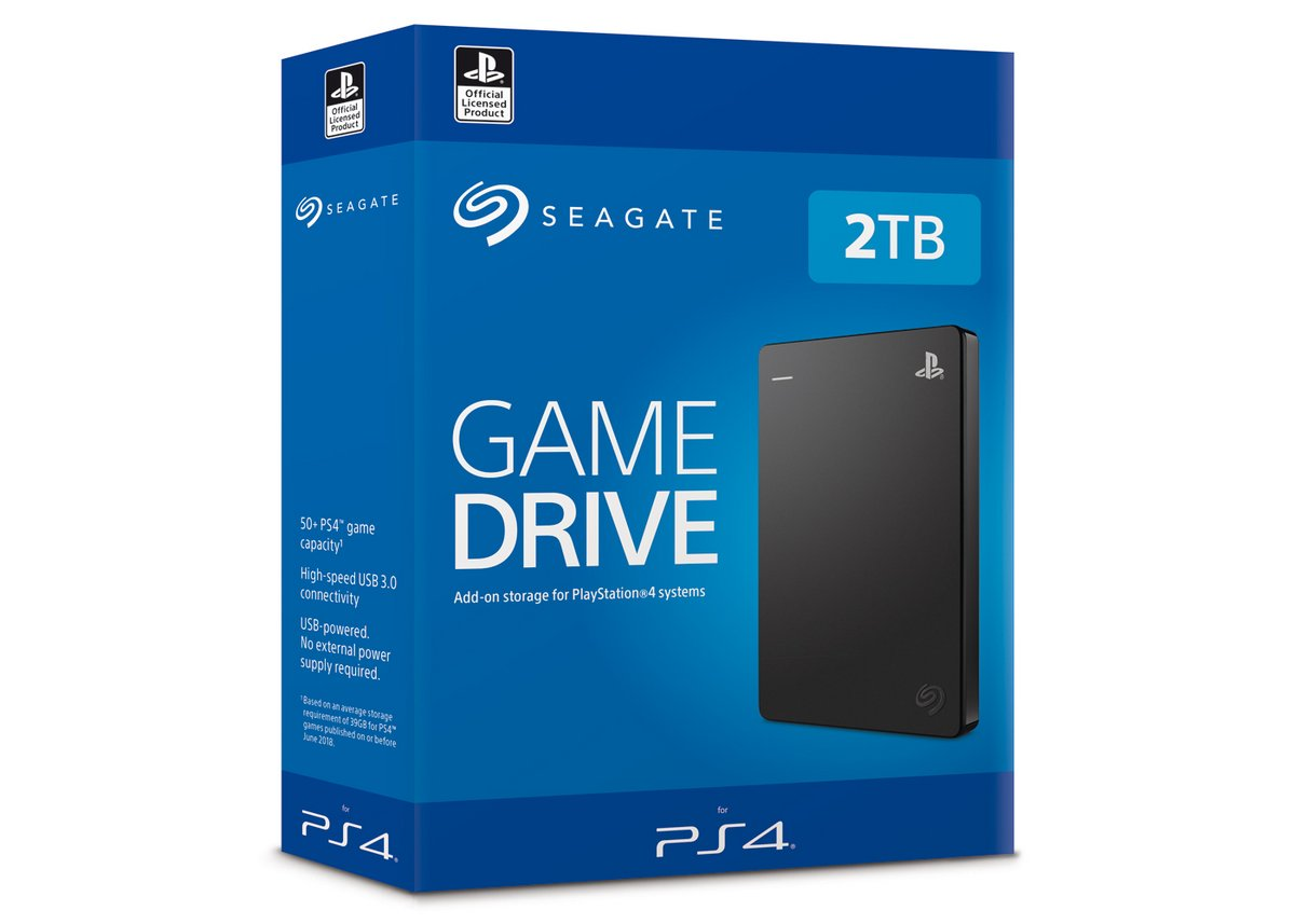 Seagate HDD PS4
